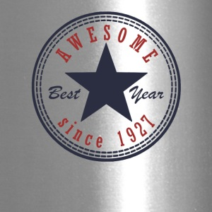 90th Birthday Awesome since T Shirt Made in 1927 - Travel Mug