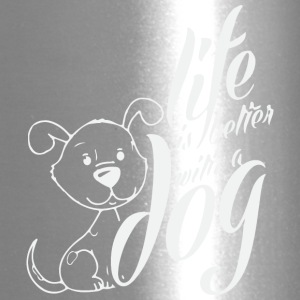 BETTER WITH A DOG - Travel Mug