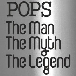 Father's Day Gift - Pops The Man The Myth Legend - Travel Mug
