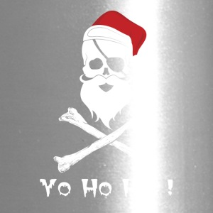 Yo Ho Ho Pirate Christmas T Shirt - Travel Mug