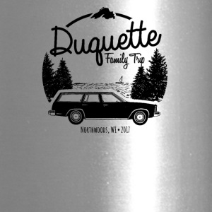 Duquette Family Vacation 2017 White Ink - Travel Mug
