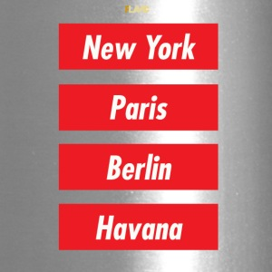 NYC PARIS BERLIN HAVANA - Travel Mug