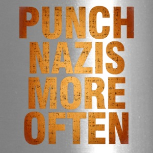 Punch More Nazis Shirt Pre - Travel Mug