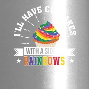 I Have Cupcakes With Side Of Rainbows - Travel Mug