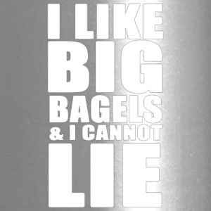 I Like Big Bagels And I Cannot Lie Funny Quote T - Travel Mug