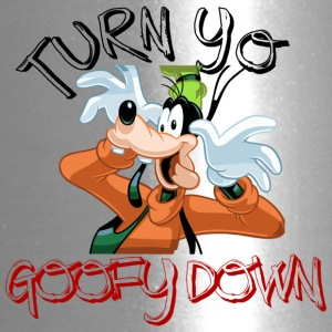 Cartoon Turn Yo Goofy Down - Travel Mug