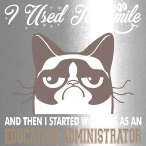 Used Smile Started Working Education Administrator - Travel Mug