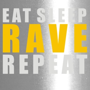EAT SLEEP RAVE REPEAT - Travel Mug