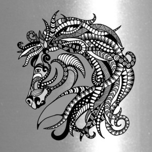 Zentangle Horse - Travel Mug