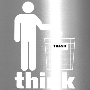 Think trash - Travel Mug