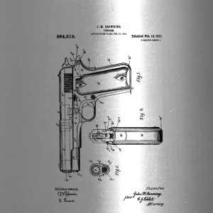 Colt Firearm Patent - Travel Mug