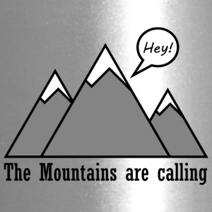 mountains calling - Travel Mug