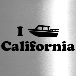 califonia motor boat - Travel Mug