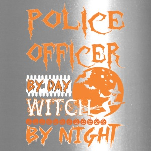 Police Officer By Day Witch By Night Halloween - Travel Mug