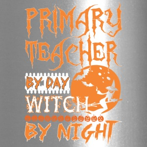 Primary Teacher By Day Witch By Night Halloween - Travel Mug