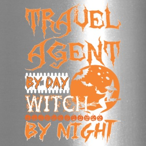 Travel Agent By Day Witch By Night Halloween - Travel Mug