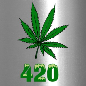 420 POT MARIJUANNA WEED LEAF - Travel Mug