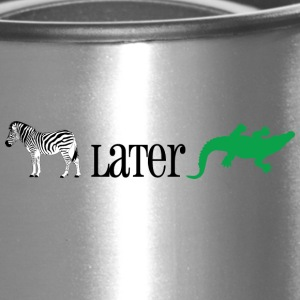 Zebra Later Alligator - Travel Mug