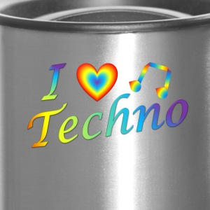 I LOVETECHNO MUSIC - Travel Mug