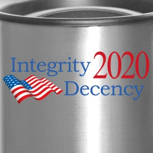Vote for real American values! - Travel Mug