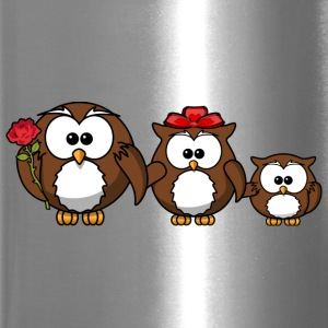 owl family - Travel Mug