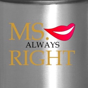 Ms Always Right - Travel Mug