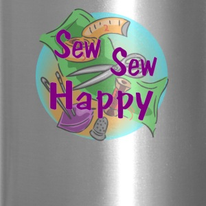 Sew Sew Happy - Travel Mug