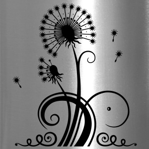 Large dandelion, summer and spring. - Travel Mug