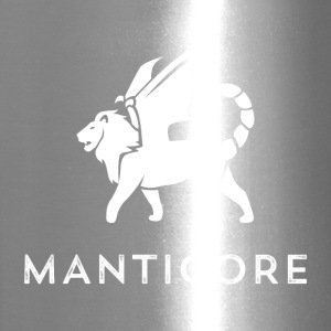 Manticore White Logo - Travel Mug