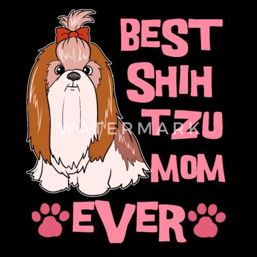 Snapback CapBest Shih Tzu Mom Terrier Cute Dog Mother Gift