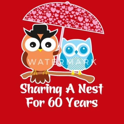 60 Years Wedding Anniversary Gifts Valentine Day By Ilovemytshirt