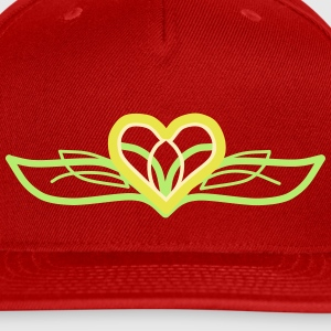 Designer Heart - Snap-back Baseball Cap