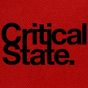 Critical State Merchandise - Snap-back Baseball Cap