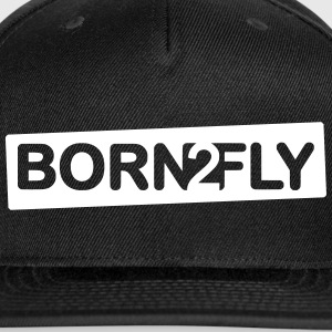 born2fly - Snap-back Baseball Cap