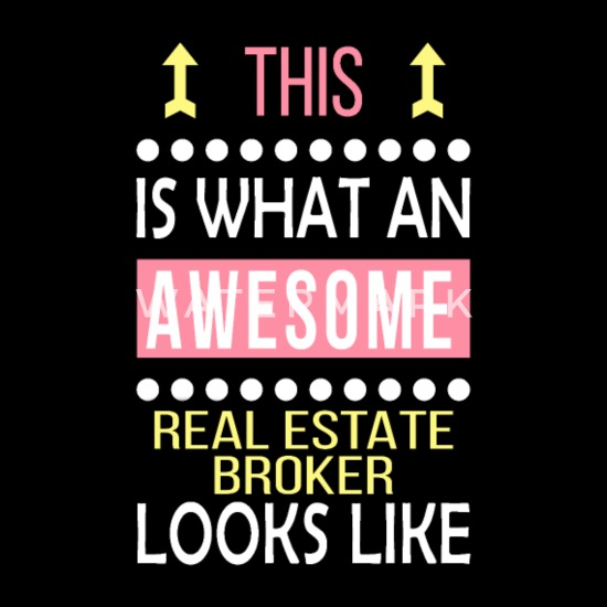 Real Estate Broker Job Awesome Looks Cool Funny Snapback Cap