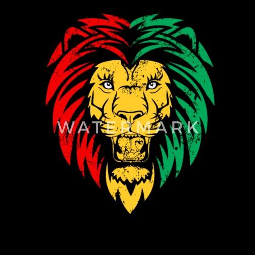 Rastafari Reggae Lion Safari Zookeeper Gift By GermanComicDesign Beauteous Fotos Rastafari Reggae