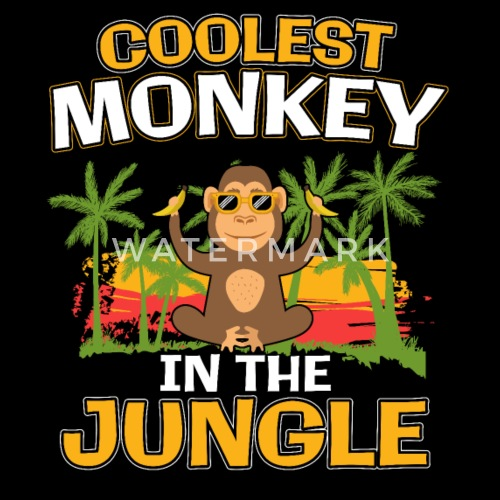 537928aafc7 Coolest Monkey In The Jungle Gift Snapback Cap