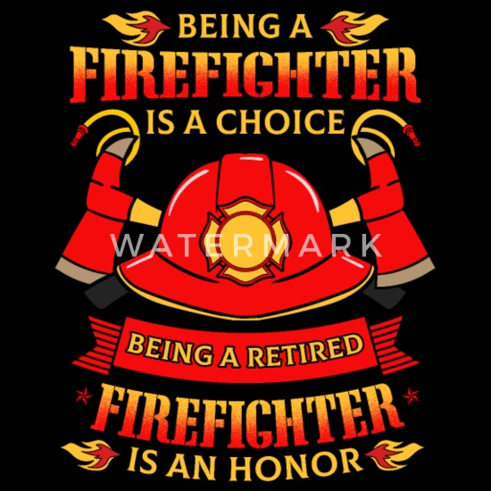 Being A Retired Firefighter Is An Honor Snapback Cap