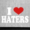 I Love haters - Snap-back Baseball Cap