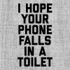 Phone In Toilet Funny Quote - Snap-back Baseball Cap