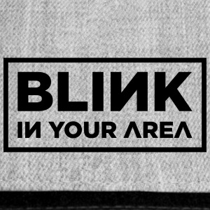 BLINK IN YOUR AREA (Black Lettering) - Snap-back Baseball Cap
