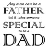 Any Man Can be a Father but it takes someone spec - Men's Premium T-Shirt