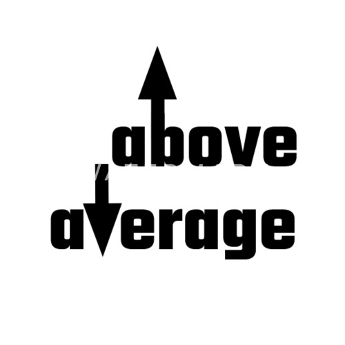 Above Average Men S Premium T Shirt Spreadshirt