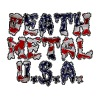 DEATH METAL USA - Men's Premium T-Shirt