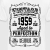 Vintage 1959 Aged to Perfection 57th Birthday gift - Men's Premium T-Shirt