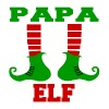 PAPA ELF.png - Men's Premium T-Shirt