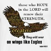 Hope in Lord Soar Like Eagles - Men's Premium T-Shirt