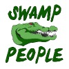 Swamp People Alligator - Men's Premium T-Shirt