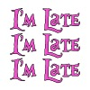 I'm Late, I'm Late, I'm Late Alice in Wonderland - Men's Premium T-Shirt
