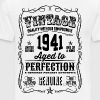 Vintage 1941 Aged to Perfection 75th Birthday gift - Men's Premium T-Shirt